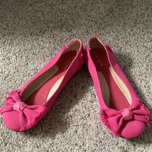 Authentic Kate Spade Pink Flats
